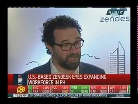 Zendesk Invests in Manila, Story on Business Nightly (ABSCBN News) - Feb 20, 2017 10pm