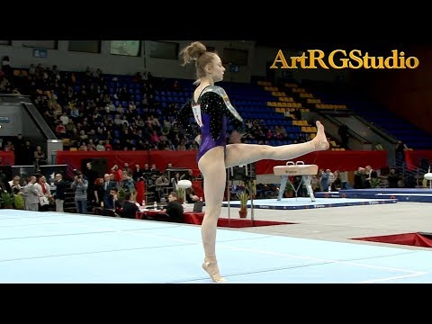 Egle STALINKEVICIUTE (LTU) FX AA Junior - Ukraine International Cup 2018