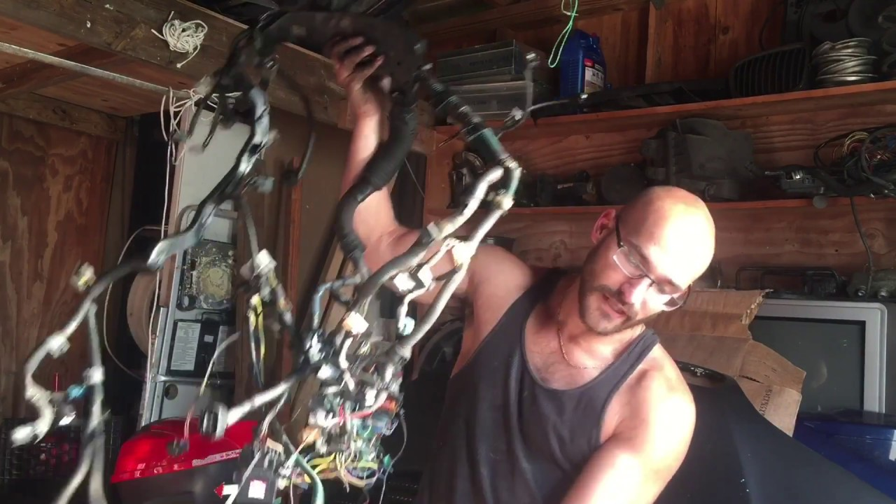 How To Remove A 2jzgte Wiring Harness Youtube 2jz