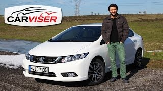 Honda Civic Sedan Test Sr Review English subtitled
