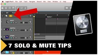 7 Solo & Mute tips in Logic Pro X