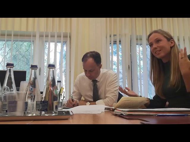 GYVAS MIŠKAS susitinka su Sveikatos Apsaugos ministru Aurelijumi Veryga, 2019 09 02