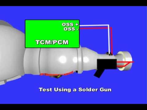 2002 Toyota Camry Wiring Diagram Scanning Transmission Gear Error Youtube