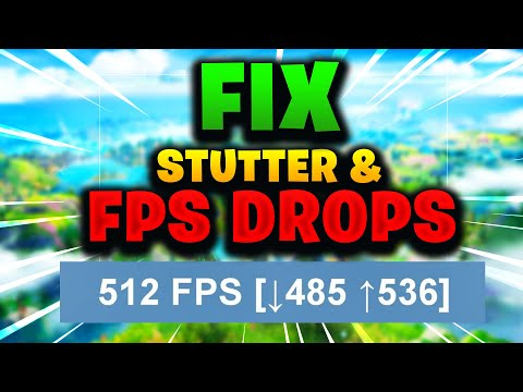 How To Fix FPS DROPS & STUTTER In Fortnite In UNDER 3 MINUTES! Season 2 Chapter 2