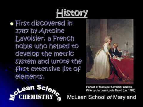 McLean Science Chemistry ELEMENT Silicon.wmv