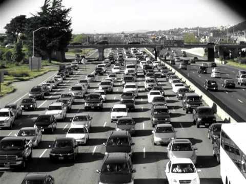 East Bay Traffic, Eastshore Freeway in Berkeley, CA