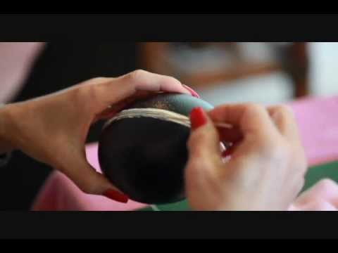 Decorate Eggs 101 with Eileen Tokita: Egg Jewel Box Wedding Centerpieces