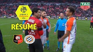 Stade Rennais FC - Montpellier Hérault SC ( 0-0 ) - Résumé - (SRFC - MHSC) / 2018-19