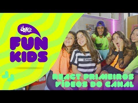 REACT Nossos Primeiros Vídeos - FunKids  FitDance Teen