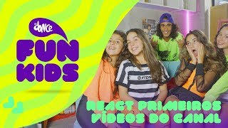 Baixar [REACT] Nossos Primeiros Vídeos - FunKids | FitDance Teen