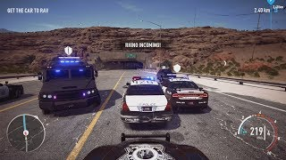 NFS Payback - Ford Crown Victoria Police Interceptor Abandoned Car Location and Police Chase