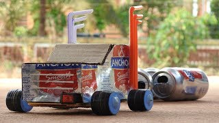 How to make a Truck by using recycle can