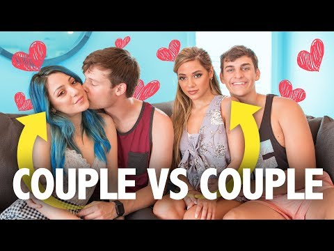 COUPLE VS. COUPLE CHALLENGE!! w/ Niki & Gabi