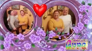 Видео поздравление из фотографий онлайн