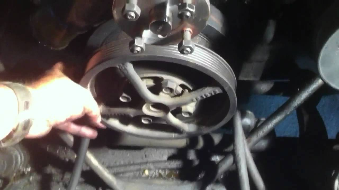 Broken crank 6.5L turbo diesel - YouTube