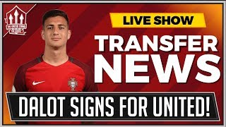 Diogo DALOT Signs OFFICIAL! Manchester United Transfer News