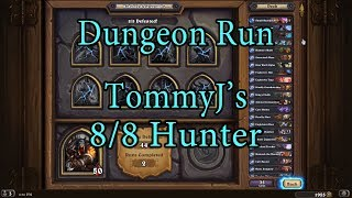 Hearthstone: Kobolds and Catacombs Hunter 8/8 Dungeon Run