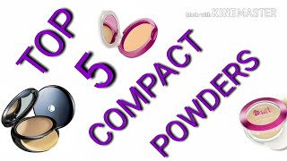 TOP 5 BEST COMPACT POWDERS FOR INDIA SKIN WITH PRICE/BEST POWDER FOUNDATION IN 2018