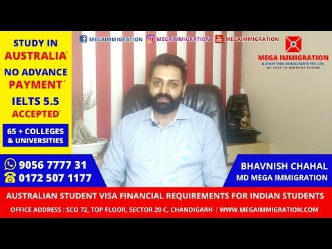 Funds Required to Study in Australia | Financial Requirements for Australia Student Visa