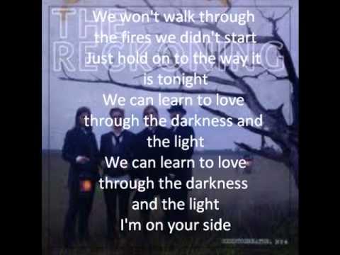 Learn to love - Needtobreathe (lyrics on screen)