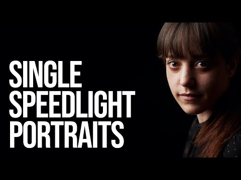 Shooting Portraits with One Speedlight
