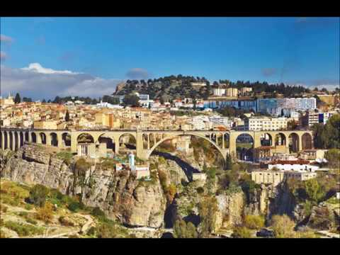 Constantine in Algeria, city of bridges,  Arab Capital of Culture, Rhumel river, tourism, travel,