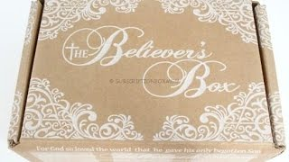 The Believer's Box January 2016 Unboxing/Review + Coupon @thebelieversbox