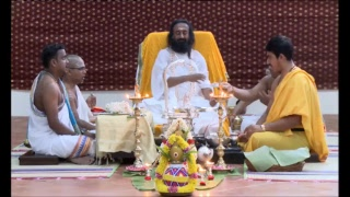 Glimpse of navratri 2017 (day 3) with gurudev sri sri ravi shankar