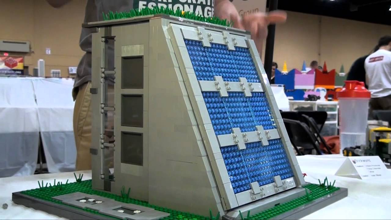 Lego Solar Panel House Brickworld Chicago 2014 Youtube