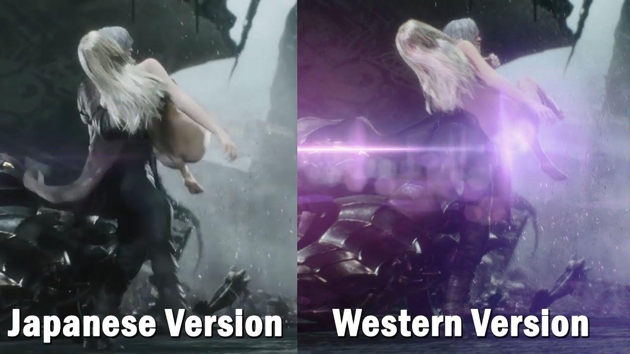 Devil May Cry V Trish Scene Censored On PS4的圖片搜尋結果