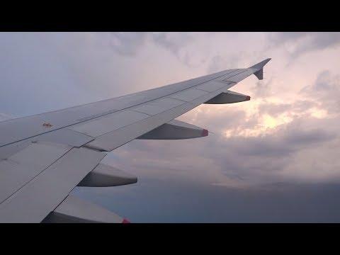 British Airways - Beautiful Evening Landing into EuroAirport Basel from London
