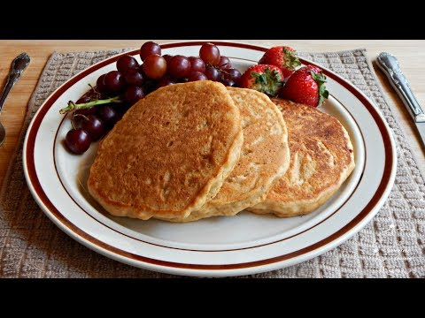 How to make fluffy pancakes from scratch without eggs and flour