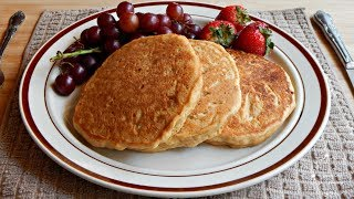 Healthy Whole Wheat Pancakes Recipe (No Eggs + No Dairy)   The Sweetest Journey
