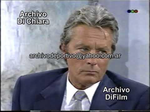 Bernardo Neustadt Entrevista A Alain Delon Parte 2 1993 DiFilm