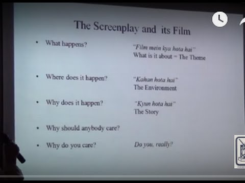How to Write Your Screenplay..