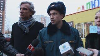 Сотрудники МЧС обнаружили в Казани установленный с нарушениями ларек с пиротехникой