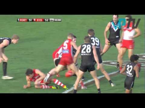 PTV: Port Adelaide comeback v Sydney - R13, 2013