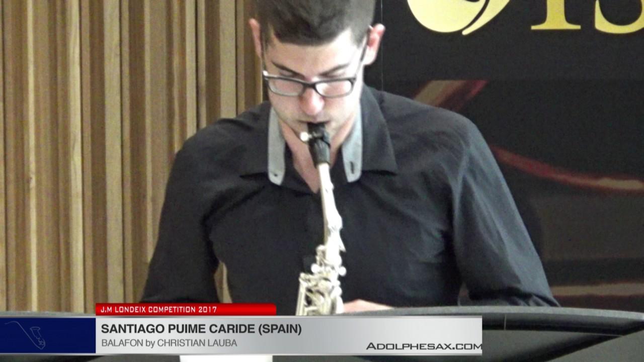Londeix 2017 - Santiago Puime Caride (Spain) - Balafon by Christian Lauba