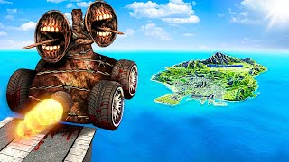 Download lagu Jumping SIREN HEAD CARS Across The Map In GTA 5.. (Mods)