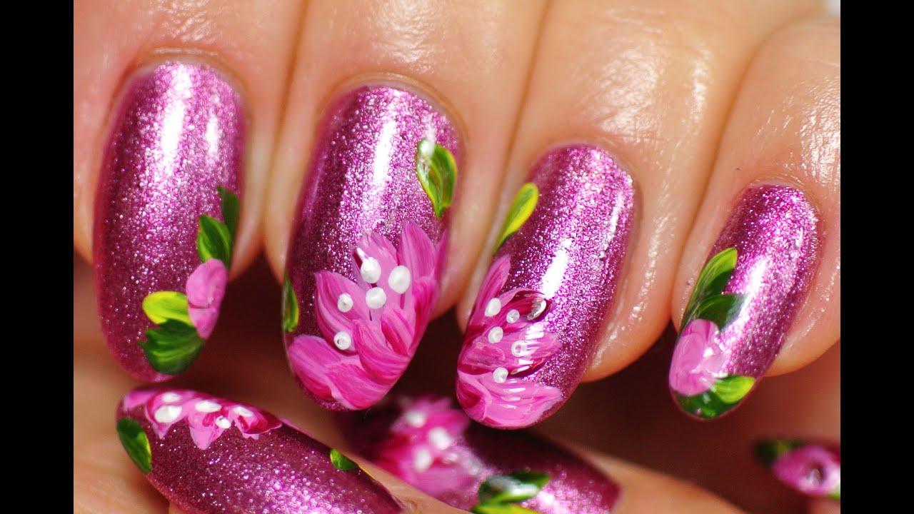 Nail Art Acrylic Paint Vs Nail Polish | Hession Hairdressing