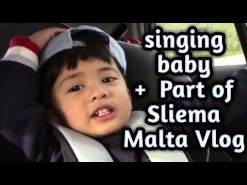 SLIEMA MALTA VLOG//sing daw sya:)
