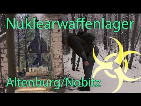 Bunker Flip Flop - GSSD Nuklearwaffenlager Altenburg Nobitz