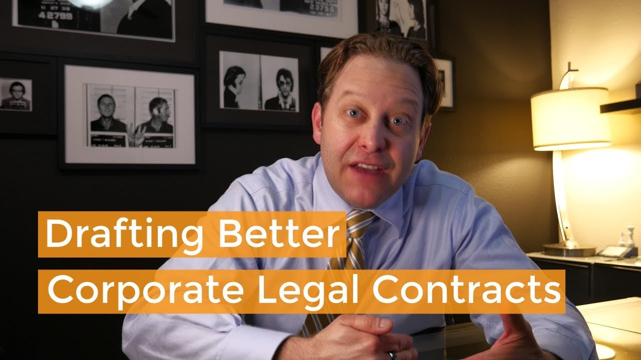 Quick Corporate Lawyer Tip for Contract Drafting