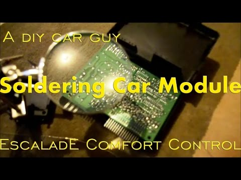 Body Control Module Repair for Cheap or Free - Escalade - Circuit Board Soldering - BCM
