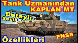 Fnss Kaplan MT Tank Özellikleri
