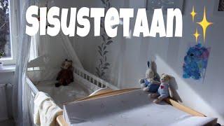 Sisustetaan makuuhuone/lastenhuone