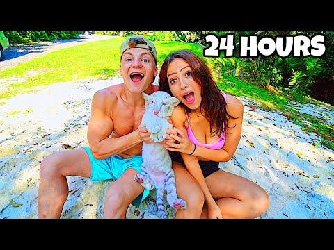 ADOPTING A BABY TIGER FOR 24 HOURS!