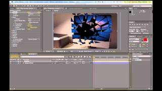 efeito Shatter After Effects