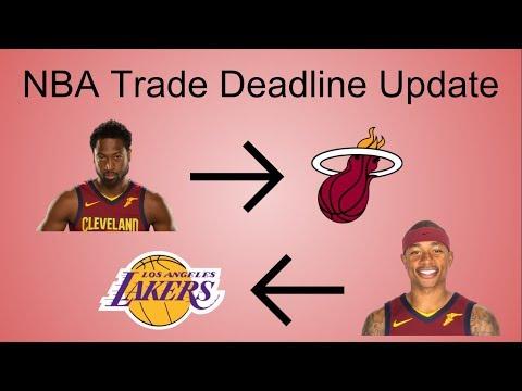 NBA Trade Deadline Recap/Update 2018!
