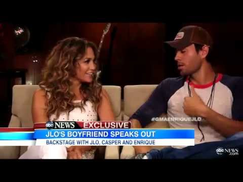 Jennifer Lopez & Enrique Iglesias  interview